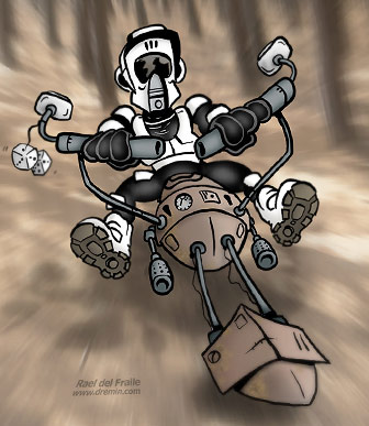 Scout Trooper Cartoon
