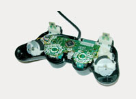 An open PlayStation controller